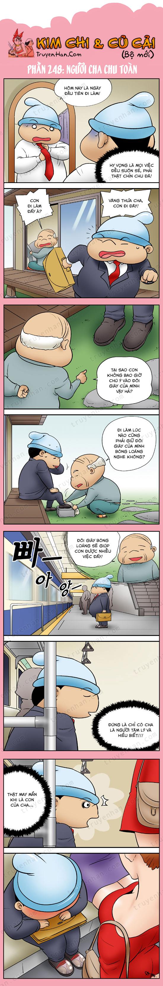 Kim Chi Và Củ Cải Phần 248: Người cha chu toàn