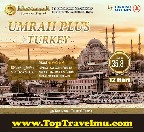 Biaya Umroh Plus Turki Murah 2018 2019