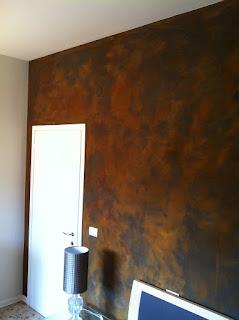 parede oxidada