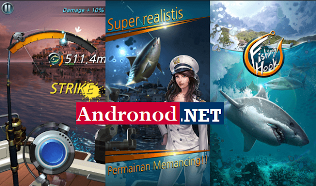 Kail Pancing v1.5.1 Mod Apk (Fishing Hook) Terbaru For Android