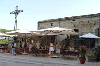 Restaurante Le bec figue, Labeaume.