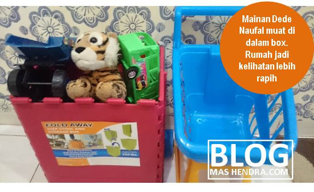 Mainan Menjadi Lebih Rapih - Blog Mas Hendra