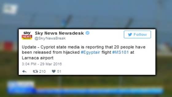 Kisah Sebenar Pesawat MS181 EgyptAir Dirampas