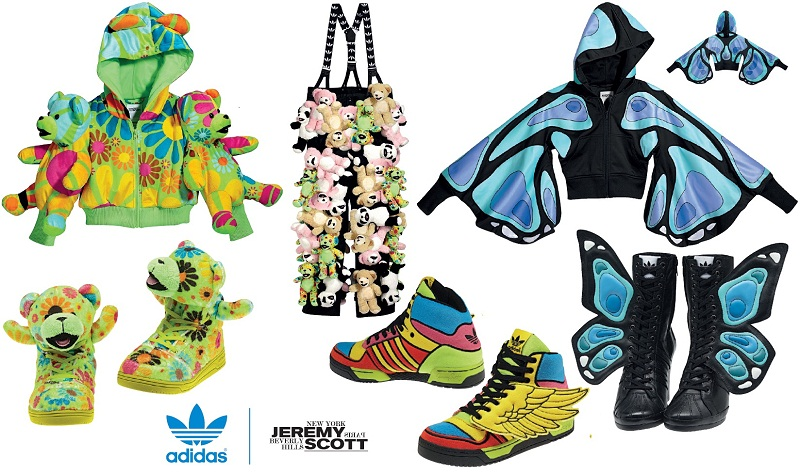594cd87119f79 Jeremy Scott x Adidas Originals AW12 Collection Preview!