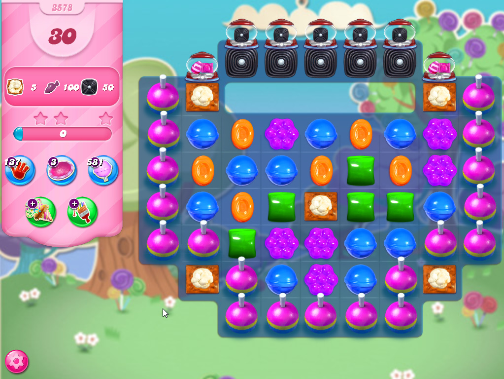Candy Crush Saga level 3578