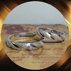cincin kawin perak p5678
