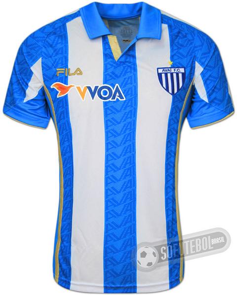 Fila divulga as novas camisas do Avaí - Show de Camisas 79fd0d2e00f62