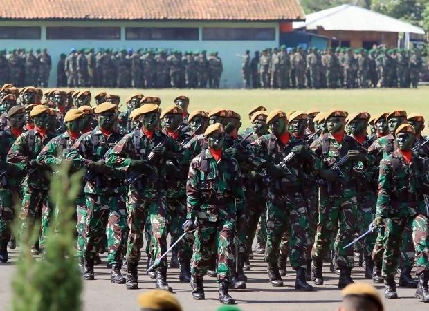 Meriam buatan Cina meledak, 3 prajurit TNI tewas