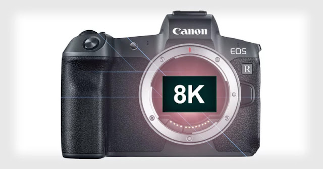 Canon: In arrivo una fotocamera EOS R 8K