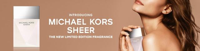 Reklama perfum Michael Kors Sheer