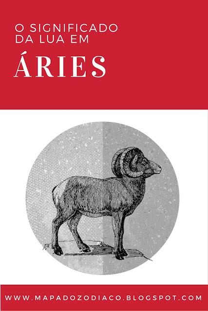 o significado da lua em aries astrologia
