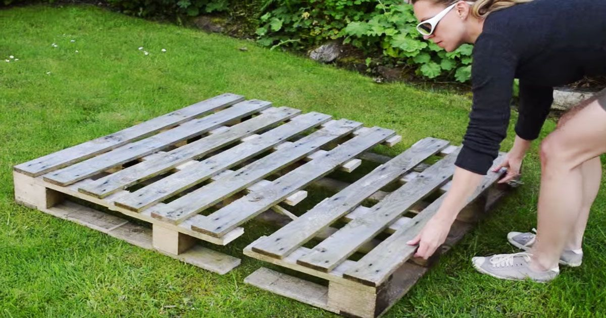 How to Build a better Strawberry Pallet Planter - Handy DIY
