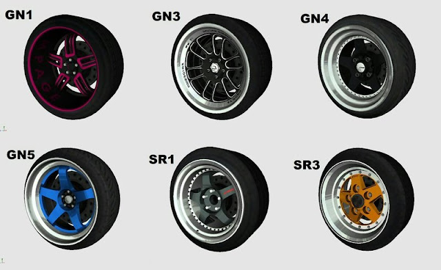 New Rims Pack 2017 No Need PC by Jacket GTA MOBILES GTAAM