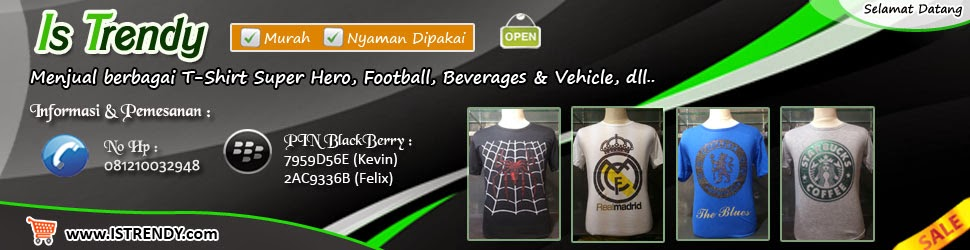 t-shirt superhero murah