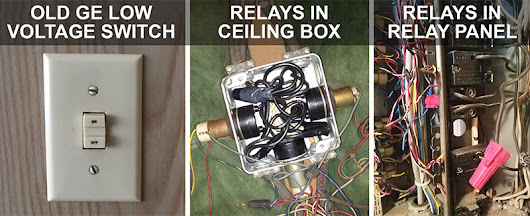 How to Replace a Low Voltage GE Switch & Relay [Install Tips]