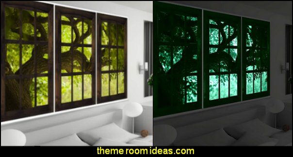 Glow in the dark wall murals  MURALS - door murals - wall murals - window sticker decals - ceiling murals - door posters - floor wallpaper - Styrofoam Crown Moldings - wall murals - wallpaper murals - floor decals - window wallpaper - Glow in the dark wall mural - decals for stairs