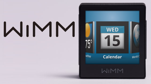 WIMM One Smartwatch Specs, Features and Price