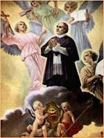 Resultado de imagen para SAN ANTONIO MARÍA CLARET  y su angel de la guarda