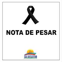 Nota de Pesar da Prefeitura Municipal de São Desidério