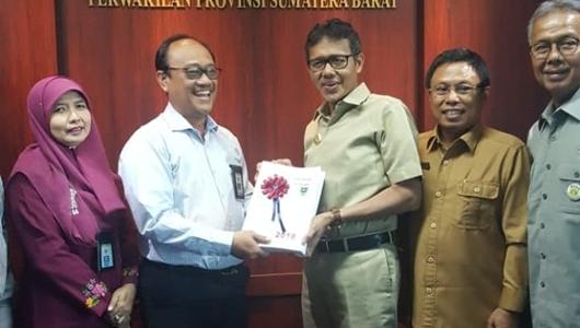 Pemprov Sumbar Tercepat di Indonesia Sampaikan LKPD 2018