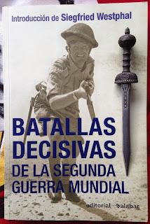 Portada del libro Batallas decisivas de la Segunda Guerra Mundial, de varios autores