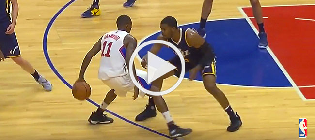 Jamal Crawford INSANE Behind The Back Dribbling Display (VIDEO)