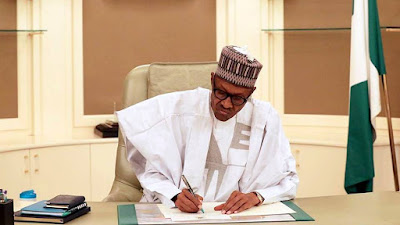 President Buhari Signs 6 New Bills Into Law