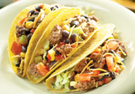 How to make Beef and Bean Tacos