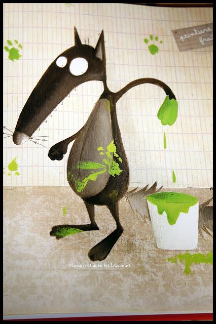 Le loup qui voulait changer de couleur vert