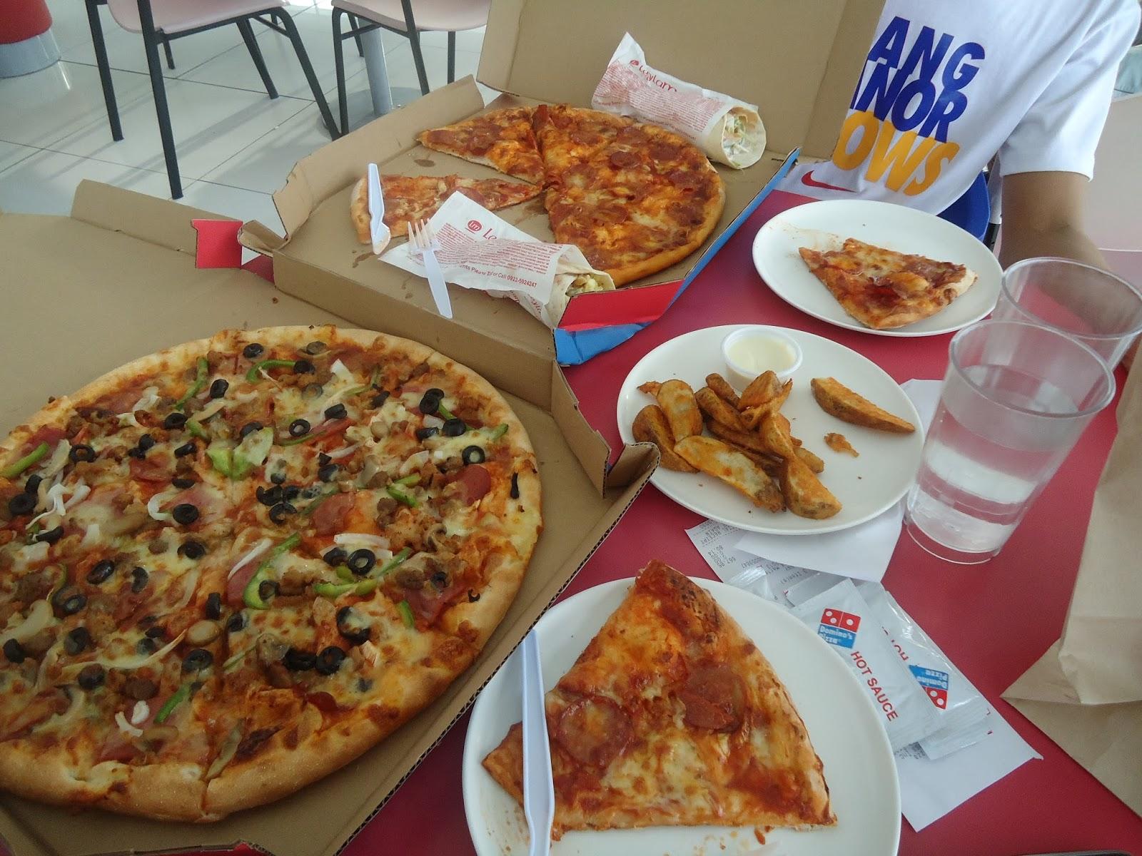 Pretty practical mom review domino 39 s pizza - Dominos pizza paterna ...