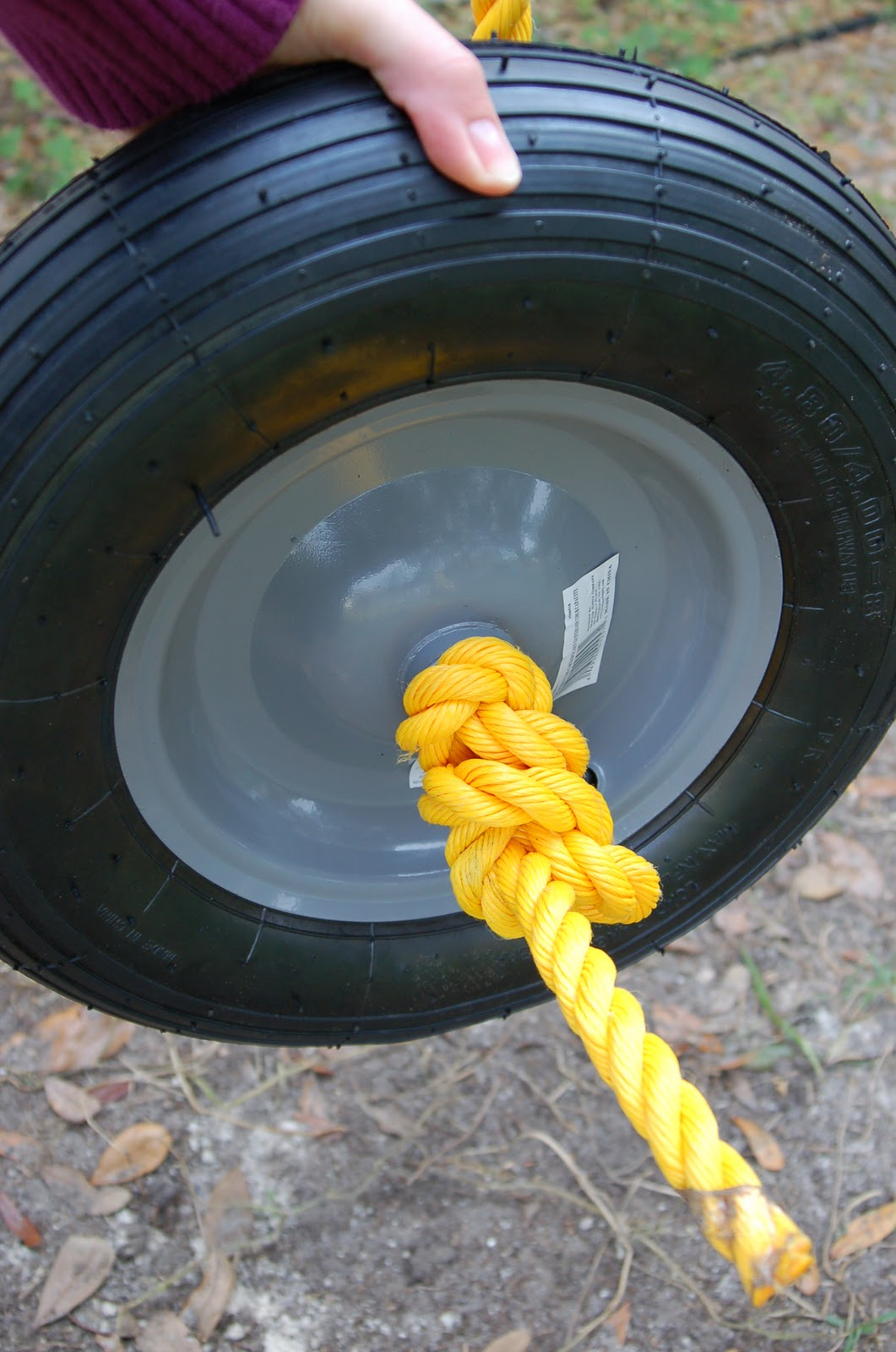 How to Build a DIY Cheap Tire Swing