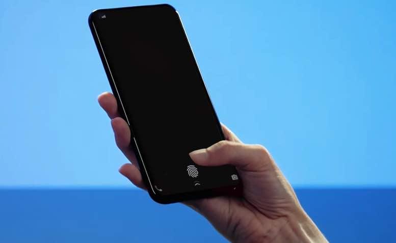 Apple Ekrana Gömülü Parmak İzi Teknolojisini Denemiş!