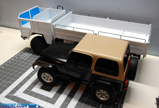 RC4WD Beast 2 vs Tamiya Jeep Wrangler