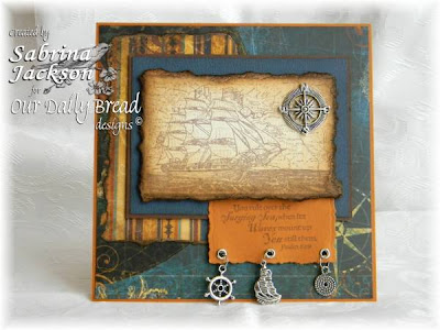 Our Daily Bread designs Surging Sea Designer Sabrina Jackson