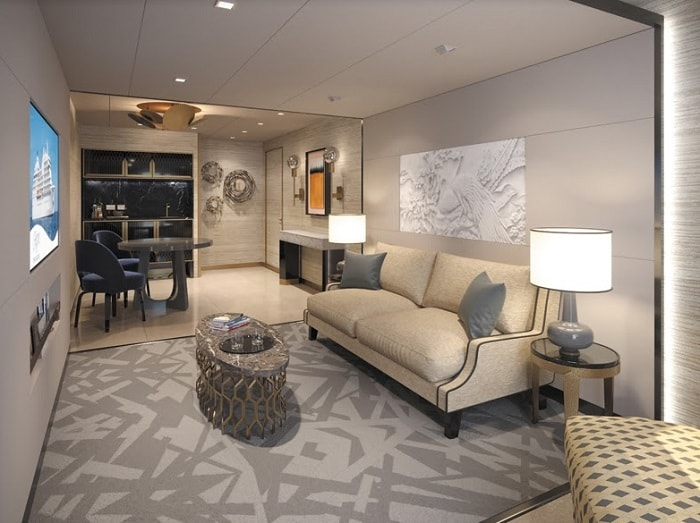 The Seven Seas Suite - Regent Seven Seas Cruises®