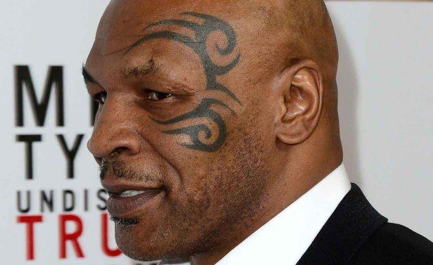 Tyson quiere registrar el tribal de su cara