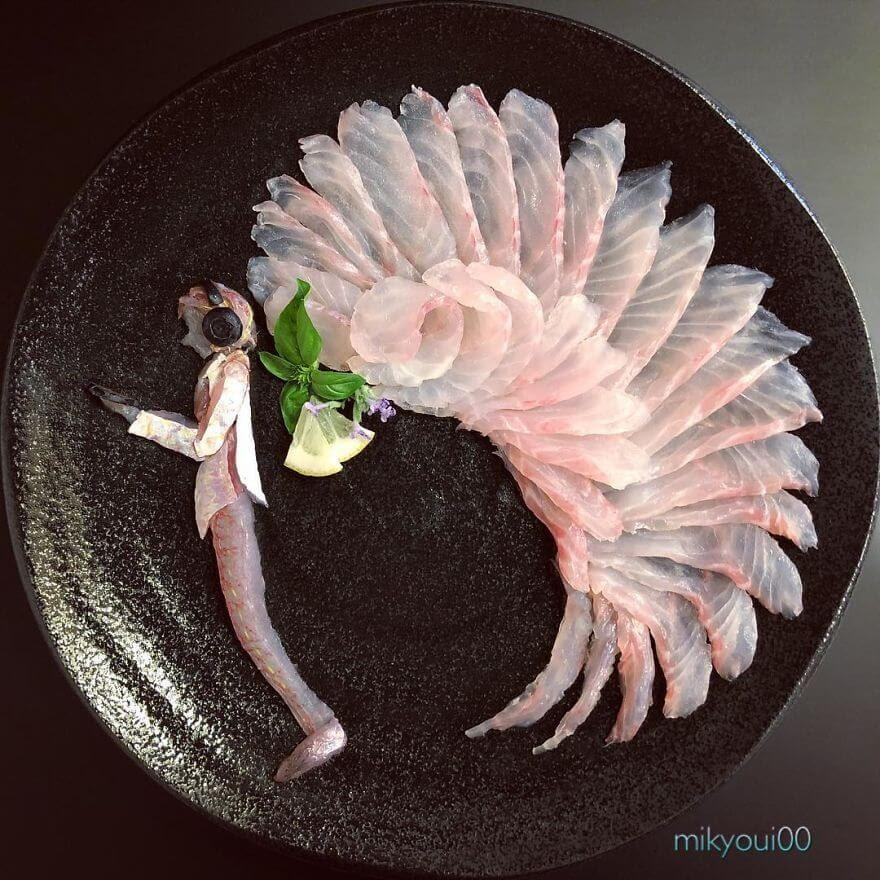 06-Power-of-Music-Mikyou-Sashimi-Art-in-Fish-Food-Art-www-designstack-co