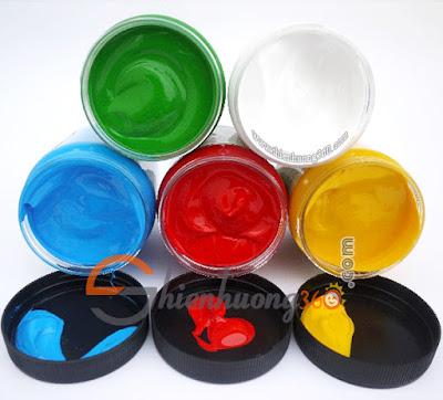 Giá màu sơn Acrylic 5D 300ml: 79k/hộp