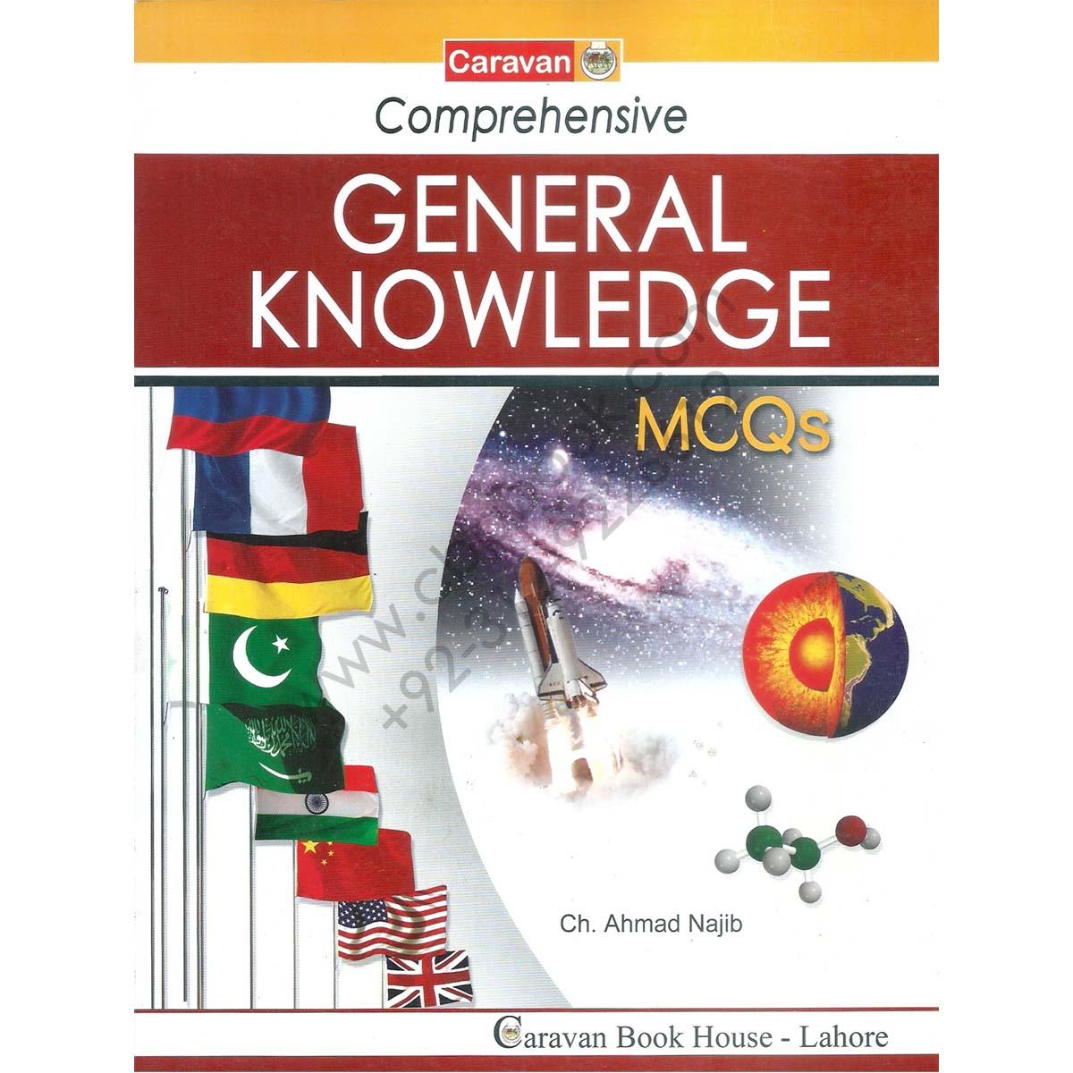 Caravan GK Book PDF 2019 MCQS by Ch Ahmed Najib Download
