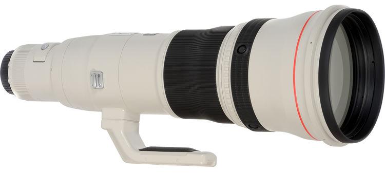 Ожидаемый объектив Canon EF 1000mm F/5.6 IS DO