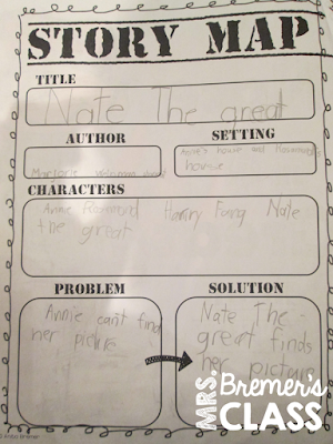 Nate the Great book study- perfect for learning the mystery genre!
