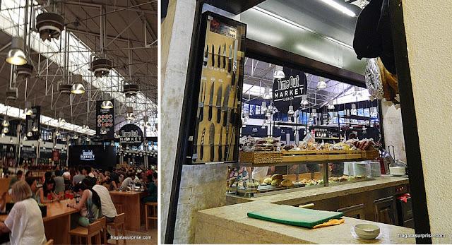 Praça de alimentação do Mercado da Ribeira, Lisboa