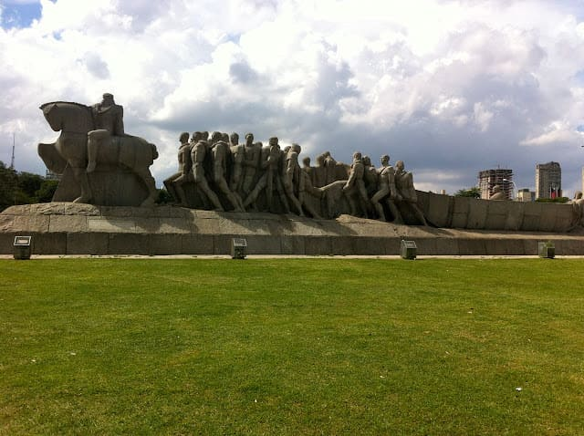 Parque Ibirapuera - Monumento às Bandeiras