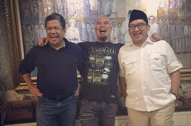 Ahmad Dhani Sebut Ustaz Somad Tak akan Dipersekusi kalau Dukung Jokowi