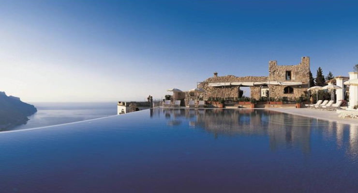 29 Most Amazing Infinity Pools in Pictures - Hotel Caruso, Ravello, Italy