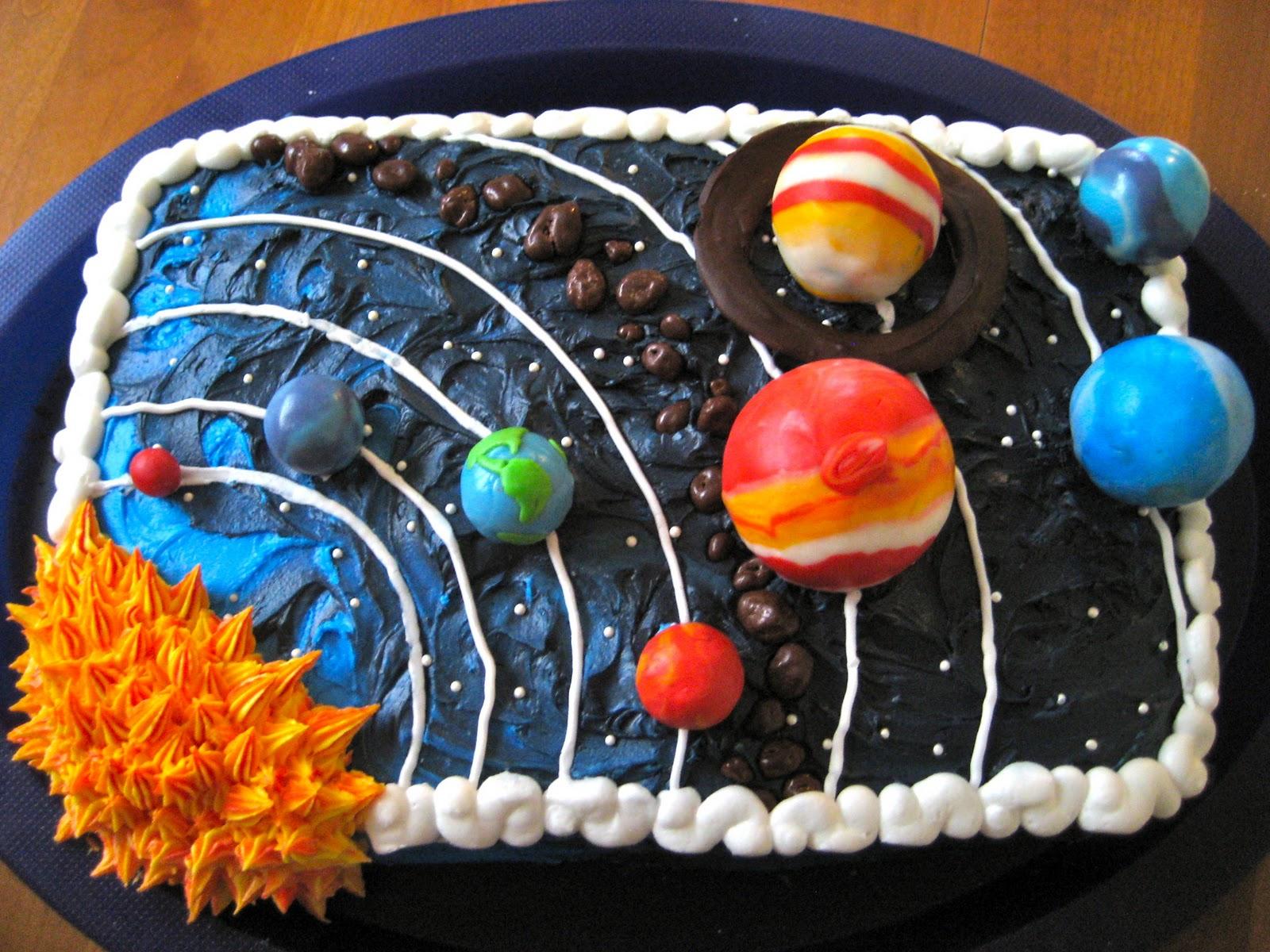 3d solar system birthday cake - photo #28