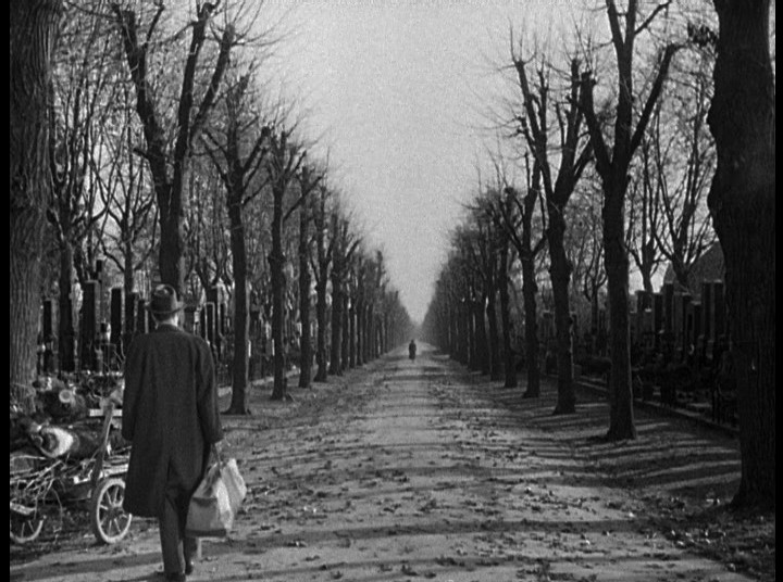 Final scene The Third Man 1949 Joseph Cotten Orson Welles
