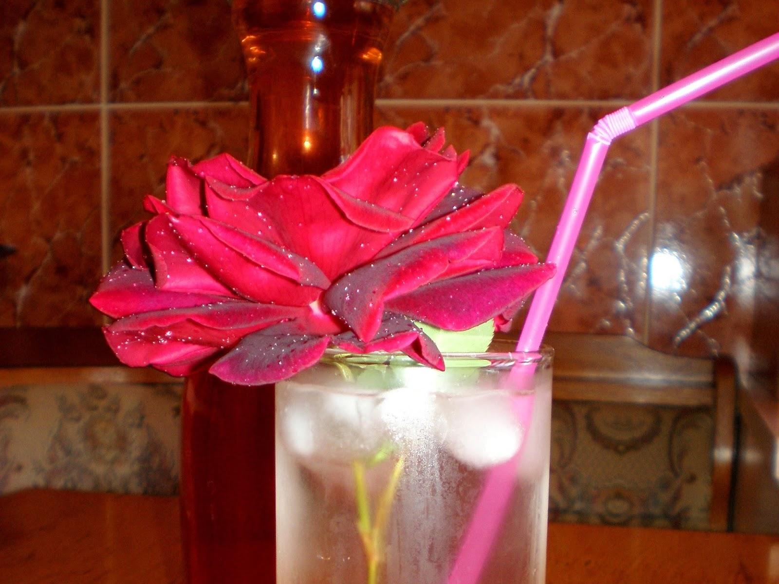 Sirop de trandafiri, fără fierbere