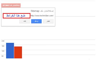 طريقة إضافه خريطة موقعك لادوات جوجل