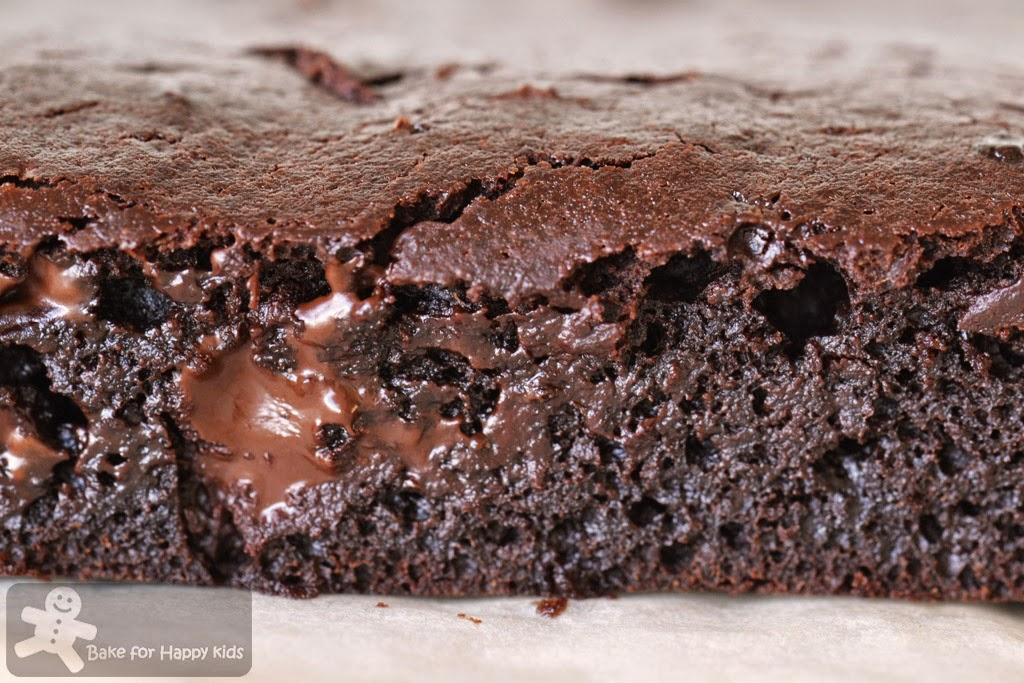 Light chocolate applesauce brownies Martha Stewart